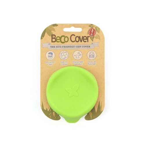 Beco Keep It Fresh Pet Can Cover, Lime Green