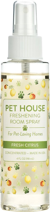 Pet House Fresh Citrus Freshening Room Spray, 4-oz
