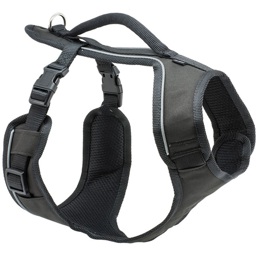 PET SAFE Easy Sport Dog Harness, Black, Large
