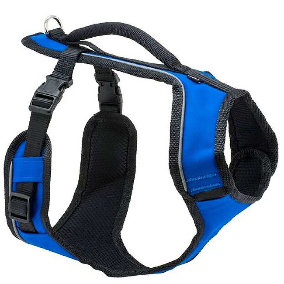 PET SAFE Easy Sport Dog Harness, Blue, Large