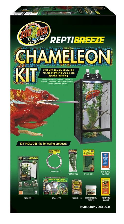 Zoo Med Reptibreeze Chameleon Kit, 16x16x30