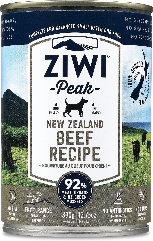 Ziwi Dog Peak Beef Recipe Canned Dog Food, 13.75-oz Weights: 10.3125pounds, Size: 13.75-oz