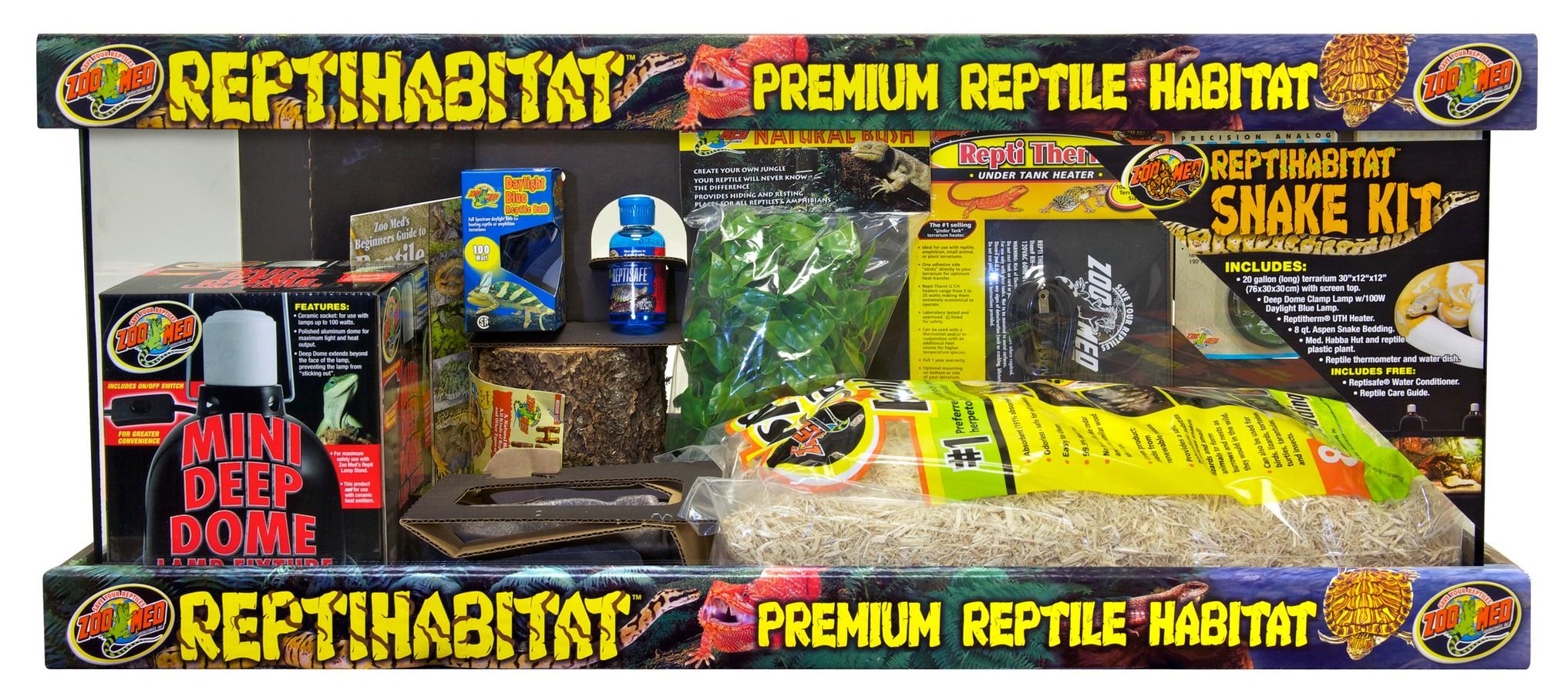 Zoo Med Reptihabitat Premium Reptile Habitat Snake Kit