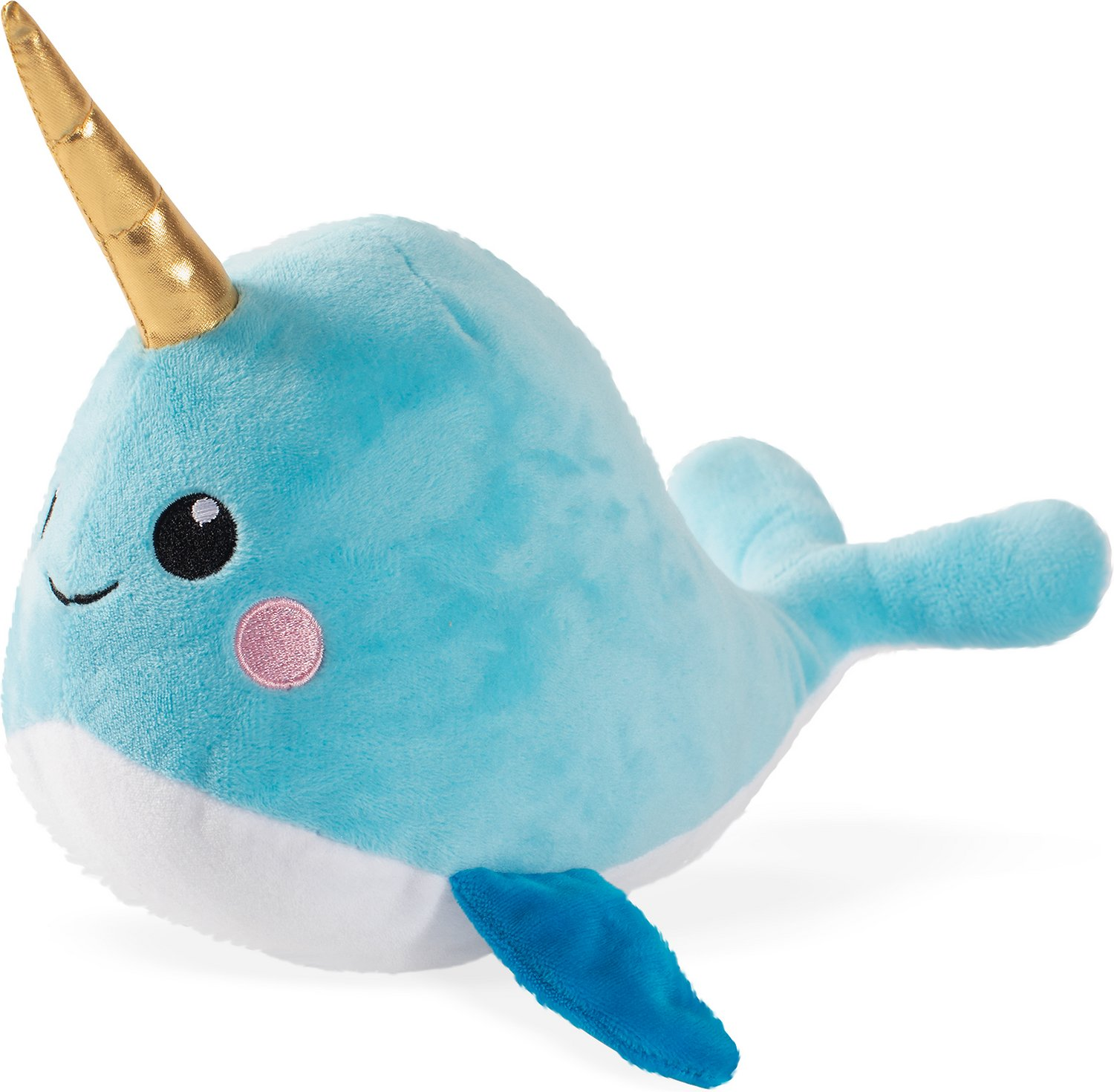 Pet Shop by Fringe Studio Nelly the Baby Narwhal Dog Toy