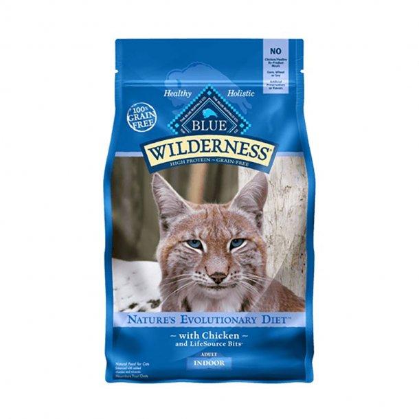 Blue Buffalo Wilderness Indoor Chicken Recipe Grain-Free Dry Cat Food, 11-lb bag