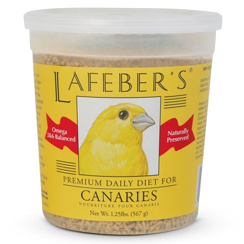 Lafeber Premium Daily Diet Canary Bird Food, 1.25-lb