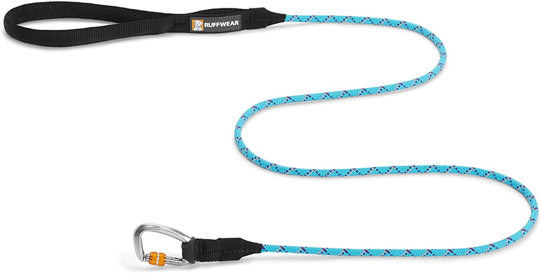 Ruffwear Knot-a-Leash Dog Leash, Blue Atoll, Large