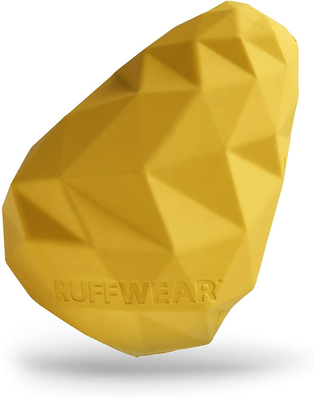 Ruffwear Gnawt-a-Cone Dog Toy, Dandelion Yellow