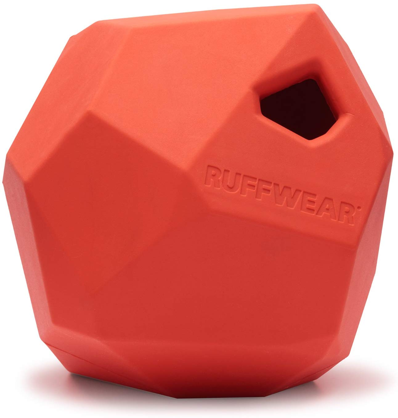Ruffwear Gnawt-a-Rock Dog Toy, Sockeye Red