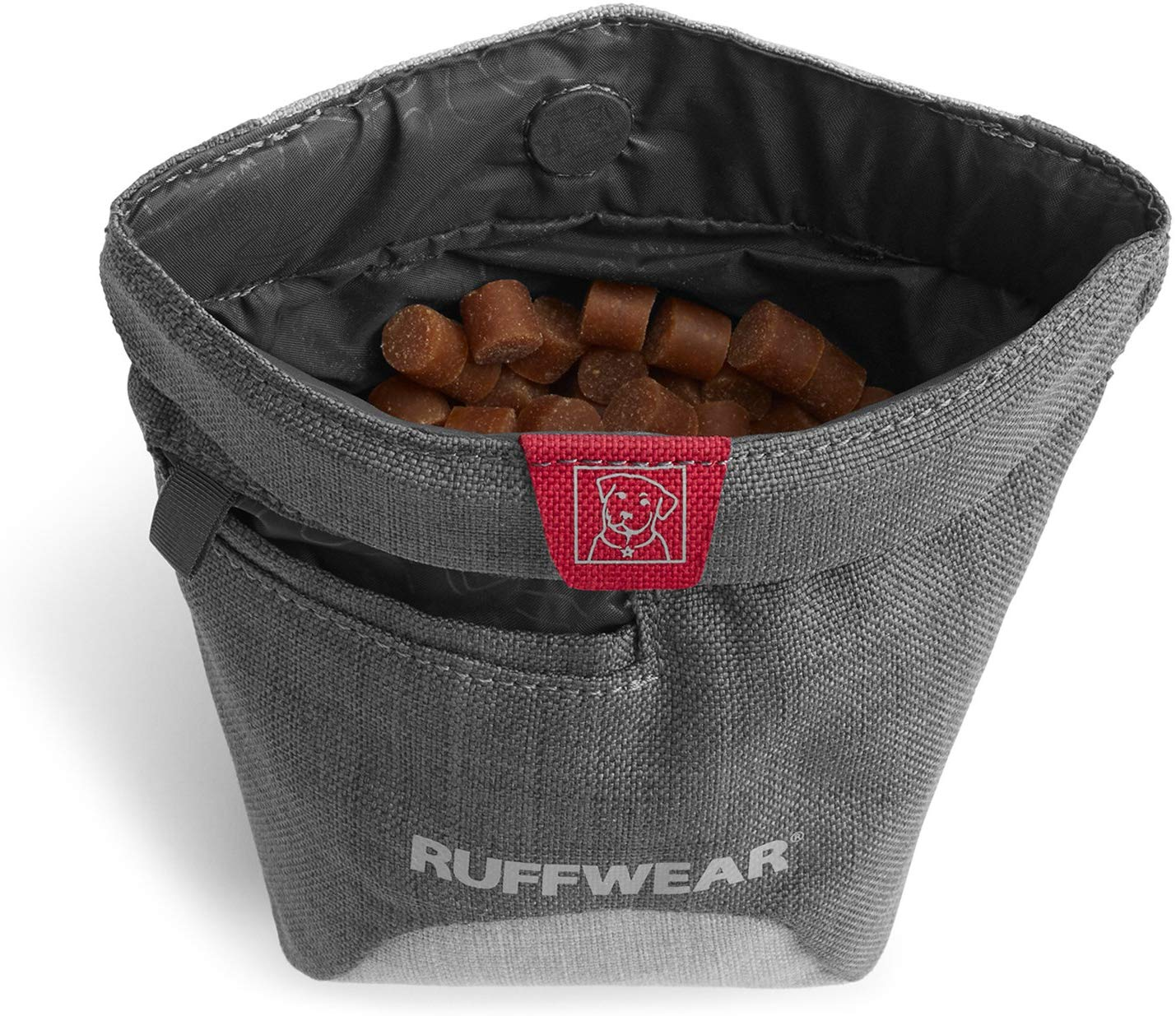 Ruffwear Treat Trader Waist-Worn Treat Bag, Twilight Gray