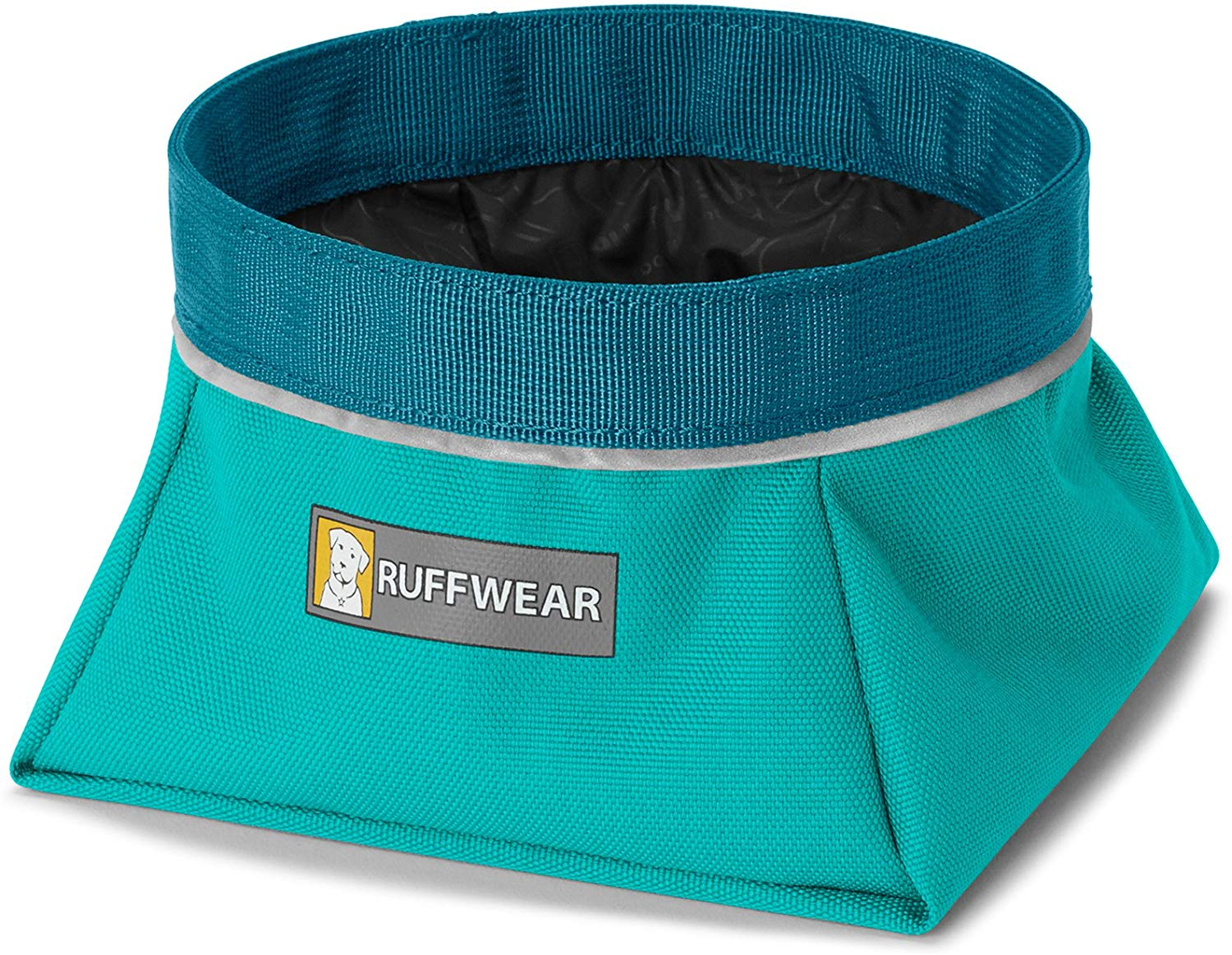 Ruffwear Quencher Food & Water Dog Bowl, Meltwater Teal, Large