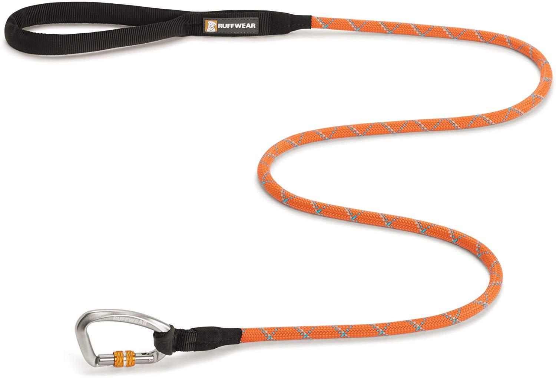 Ruffwear Knot-a-Leash Dog Leash, Pumpkin Orange, Large