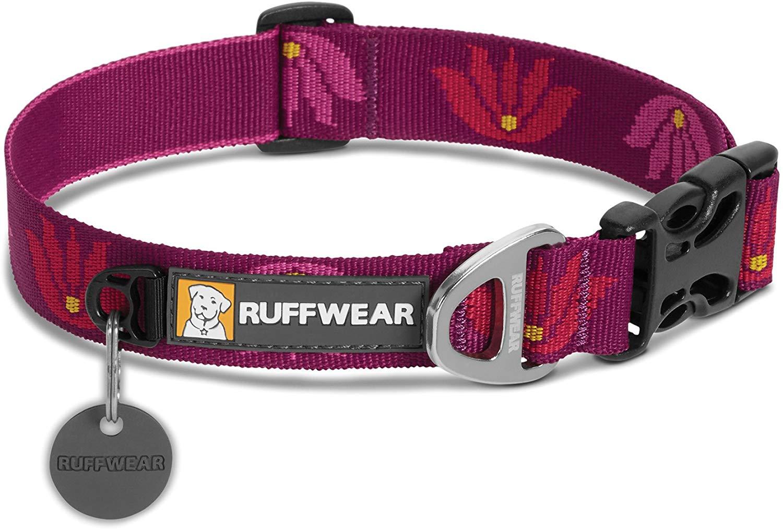 Ruffwear Hoopie Dog Collar, Lotus, 11-14-in