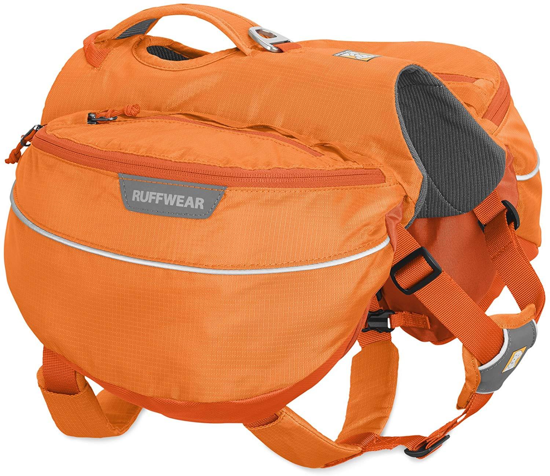Ruffwear Approach Dog Pack, Orange Poppy, Large/X-Large Size: Large/X-Large, Color: Orange Poppy