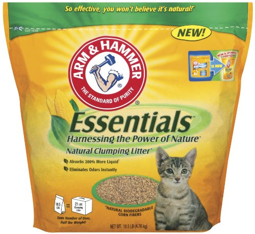 Arm & Hammer Essentials Natural Clumping Cat Litter, 9-lb