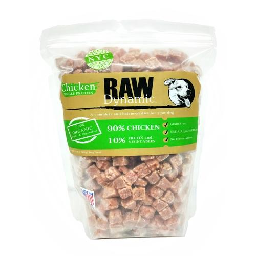Raw Dynamic Chicken Formula Raw Dog Food, 3-lb