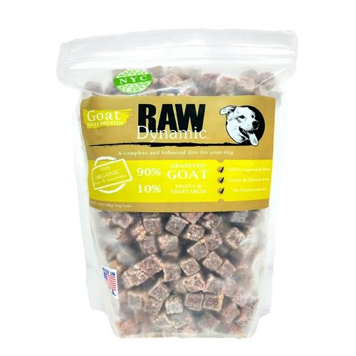 Raw Dynamic Goat Formula Raw Dog Food, 3-lb