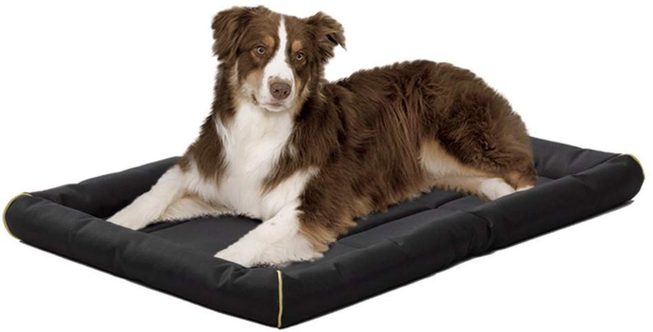 Midwest QuietTime Maxx Ultra Rugged Pet Bed, Black, 36-in x 24-in