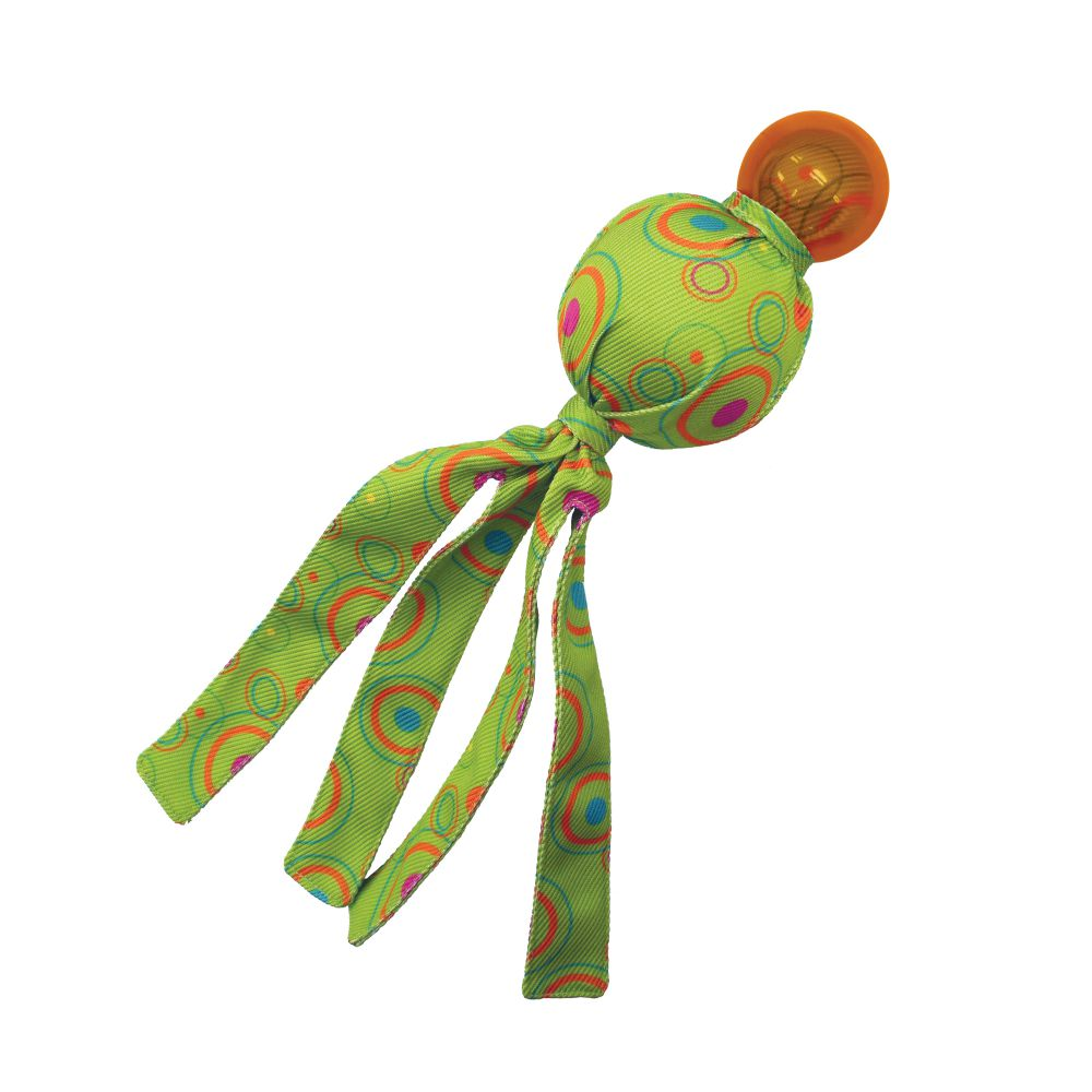 KONG Wubba Cosmos Dog Toy, Assorted Colors, Small