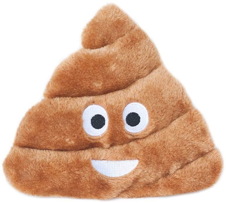 ZippyPaws Squeakie Emojiz Pile o' Poo Dog Toy
