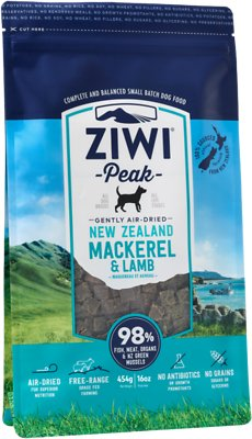 Ziwi Dog Peak Mackerel & Lamb Recipe Air-Dried Dog Food, 16-oz bag Weights: 1.0 pounds, Size: 16-oz bag