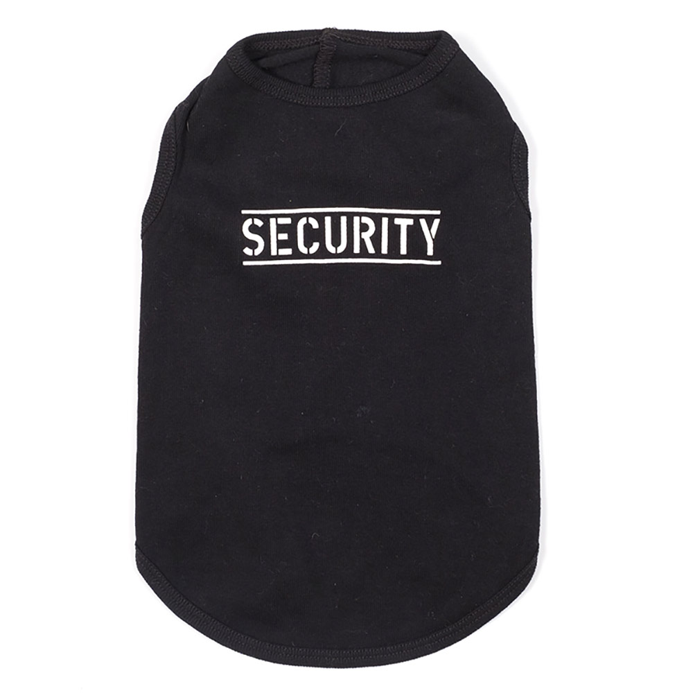 The Worthy Dog Tee, Security, X-Small
