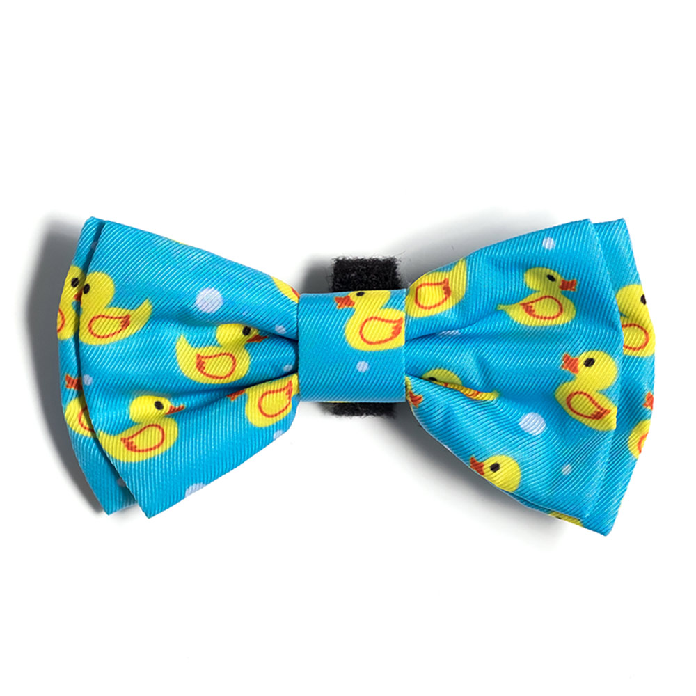 The Worthy Dog Bow Tie, Rubber Duck, Small