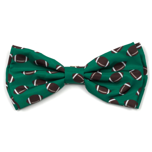 The Worthy Dog Bow Tie, Football, Large