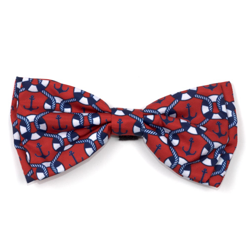 The Worthy Dog Bow Tie, Ships Ahoy, Large