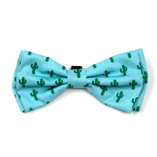 The Worthy Dog Bow Tie, Cactus, Large