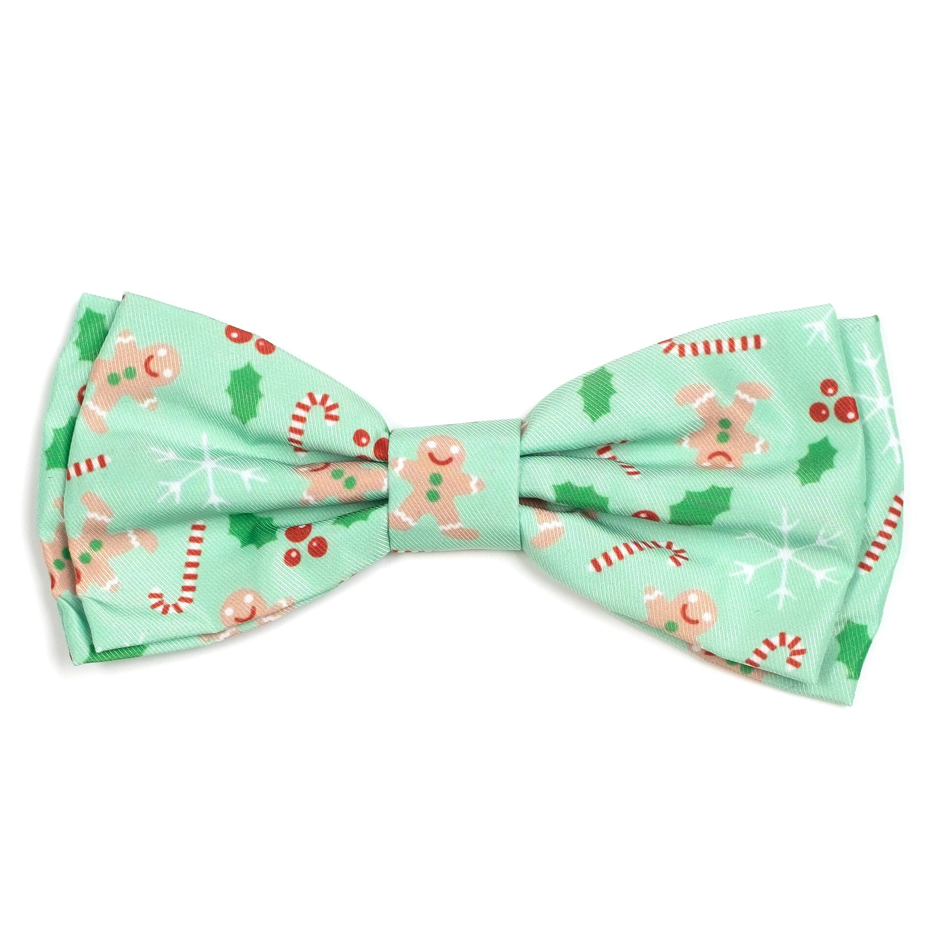 The Worthy Dog Bow Tie, Gingerbread, Large