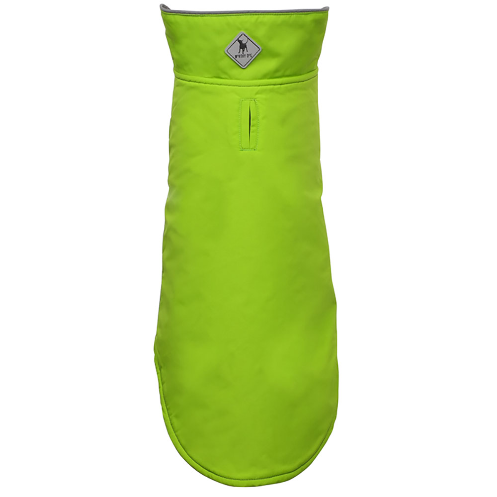 The Worthy Dog Apex Jacket, Apple Green, 28-in
