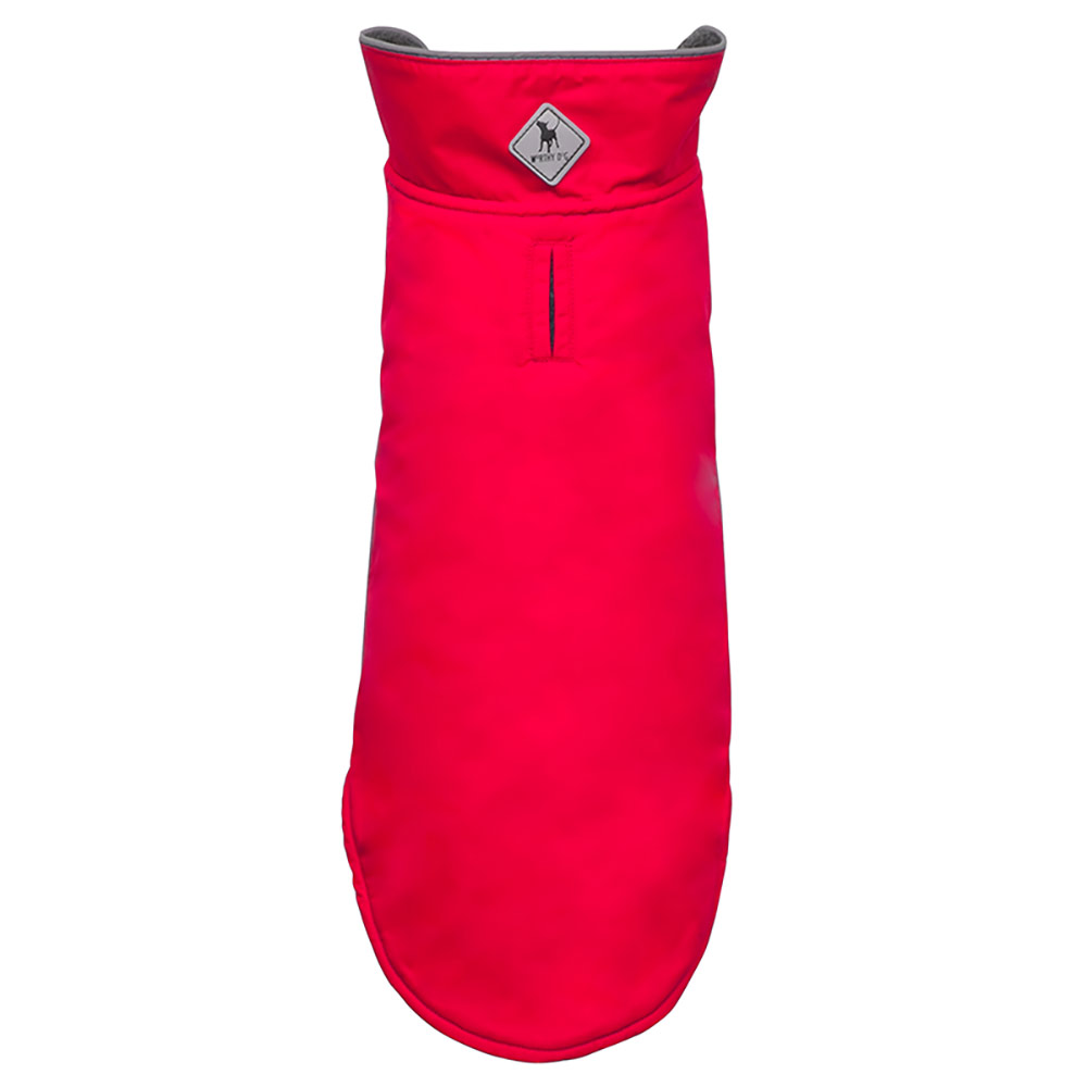 The Worthy Dog Apex Jacket, Red, 8-in