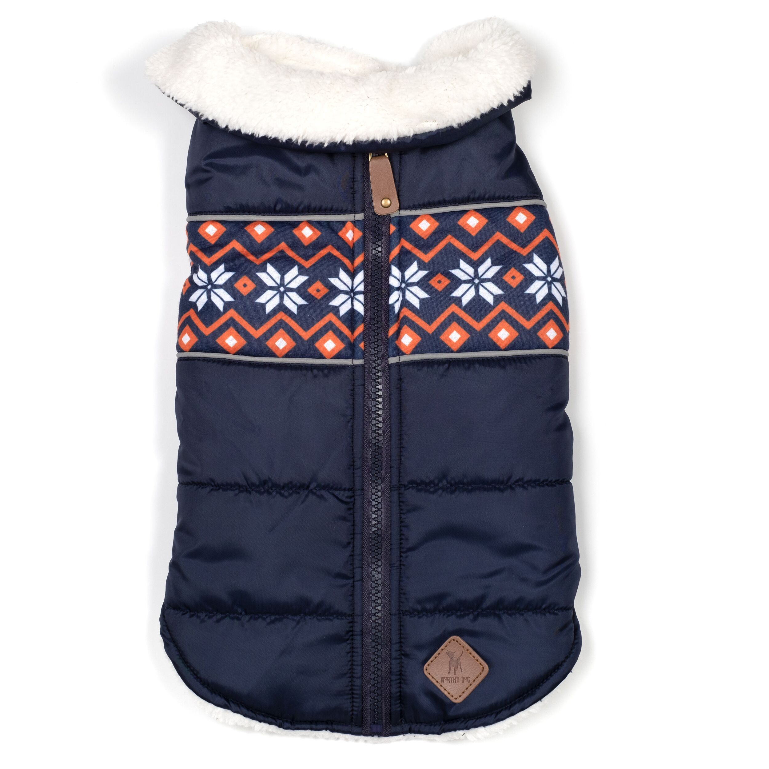 Aspen Puffer Jacket, Navy, X-Small