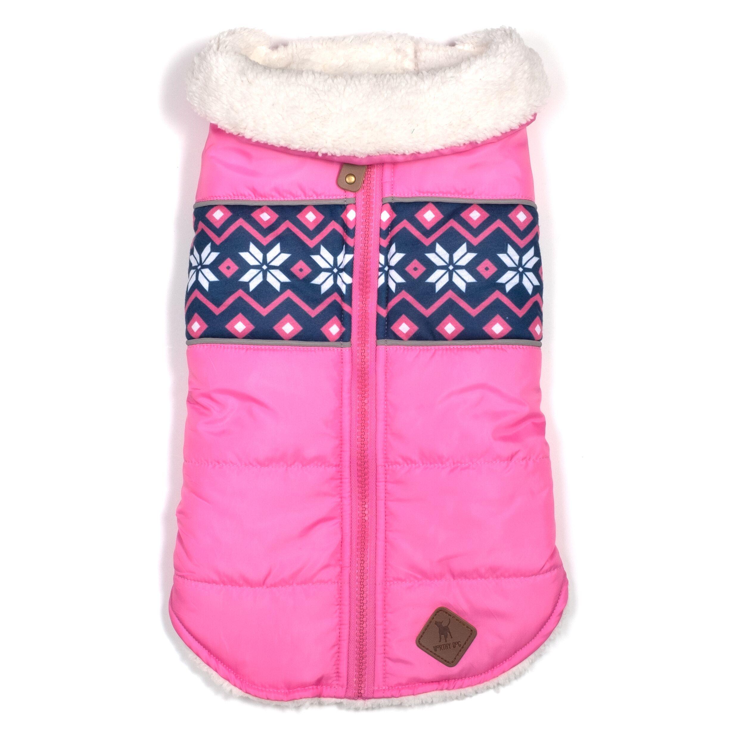 Aspen Puffer Jacket, Pink, X-Small