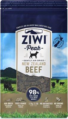 Ziwi Dog Peak Beef Recipe Grain-Free Air-Dried Dog Food, 5.5-lb bag