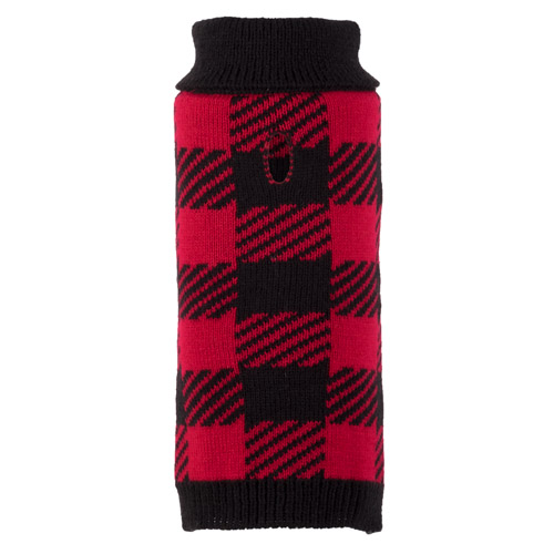 The Worthy Dog Sweater, Buffalo, X-Small