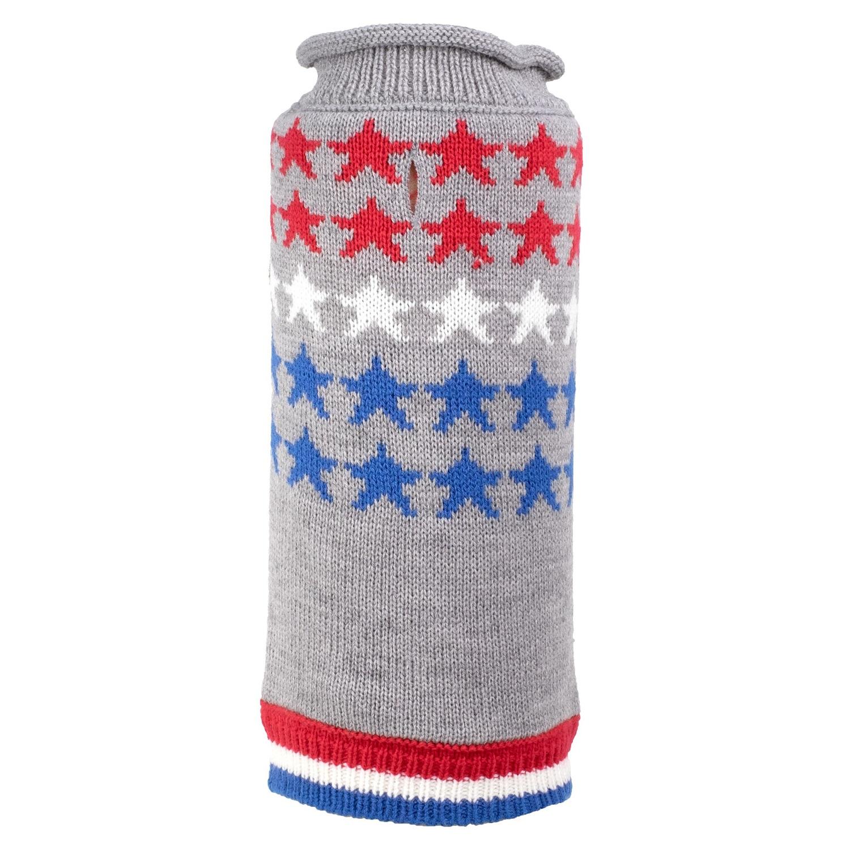 The Worthy Dog Sweater, Stars, Small