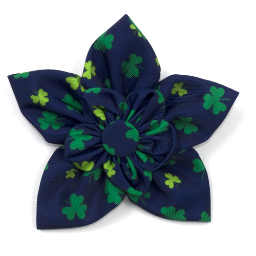 The Worthy Dog Collar Flower, Lucky, Large