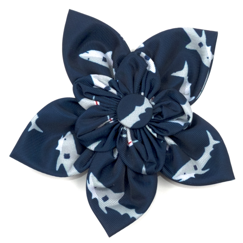 The Worthy Dog Collar Flower, Jaws, Large