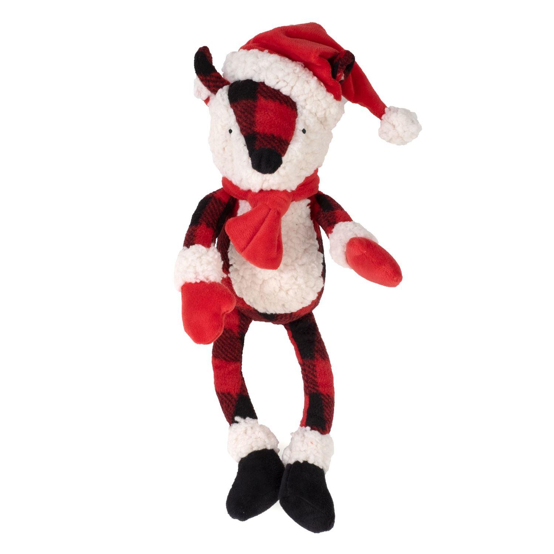 The Worthy Dog Plush Toy, Buffalo Fox