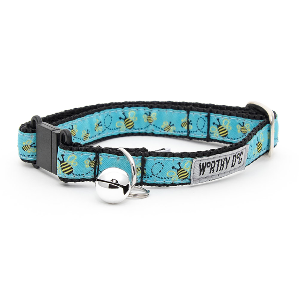 The Worthy Dog Cat Collar, Busy Bee