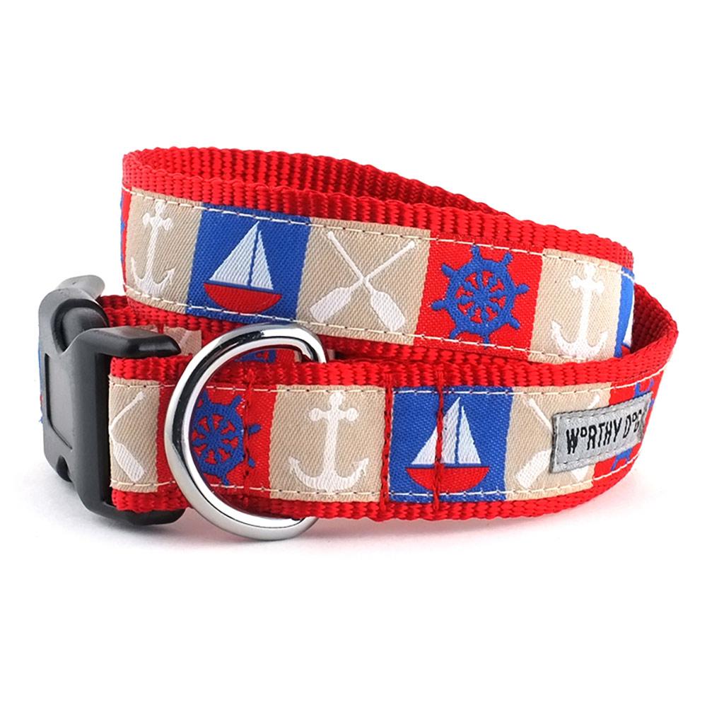 The Worthy Dog Collar, Ahoy, X-Small