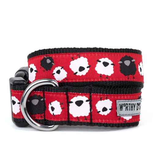 The Worthy Dog Collar, Counting Sheep, X-Small