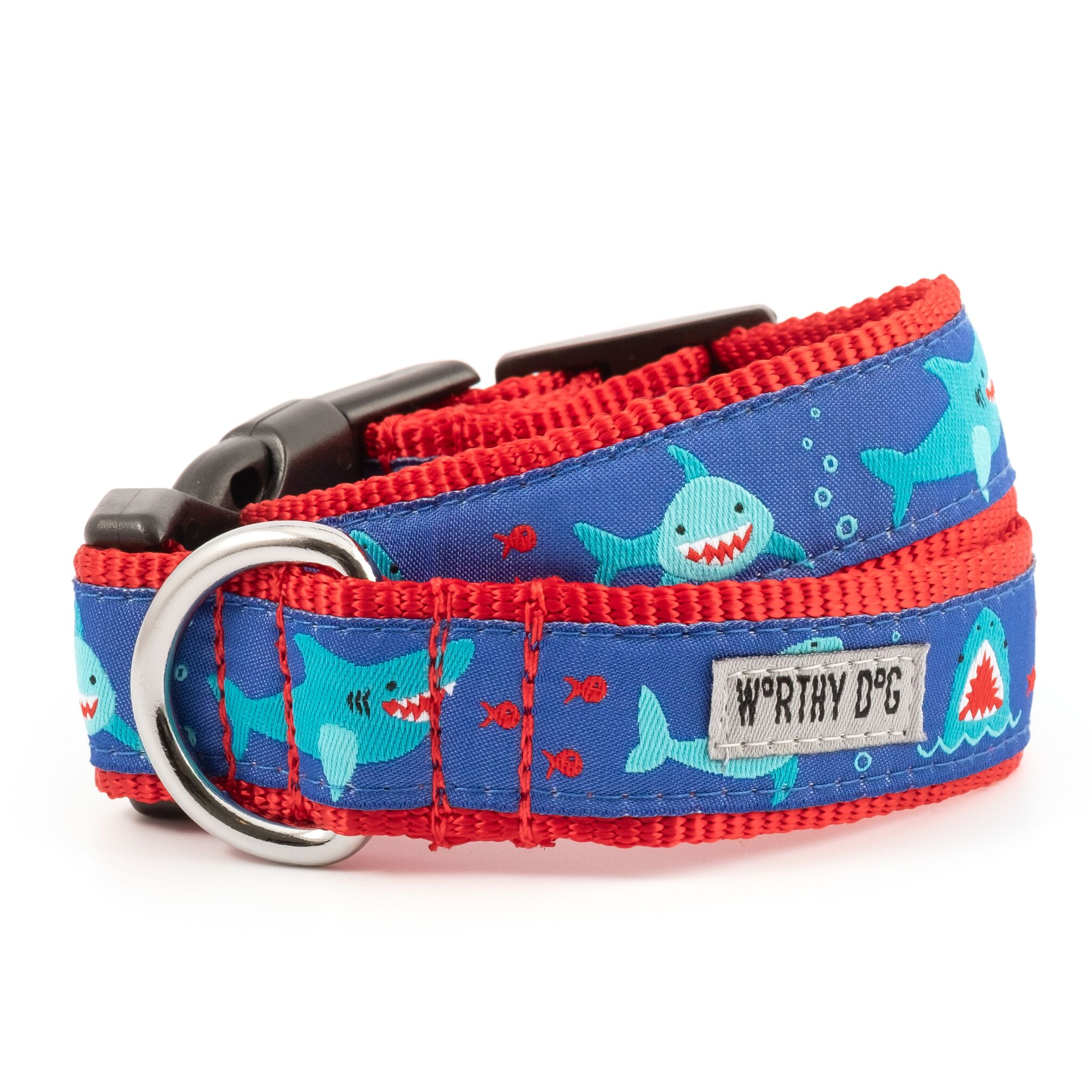 The Worthy Dog Collar, Chomp, X-Small
