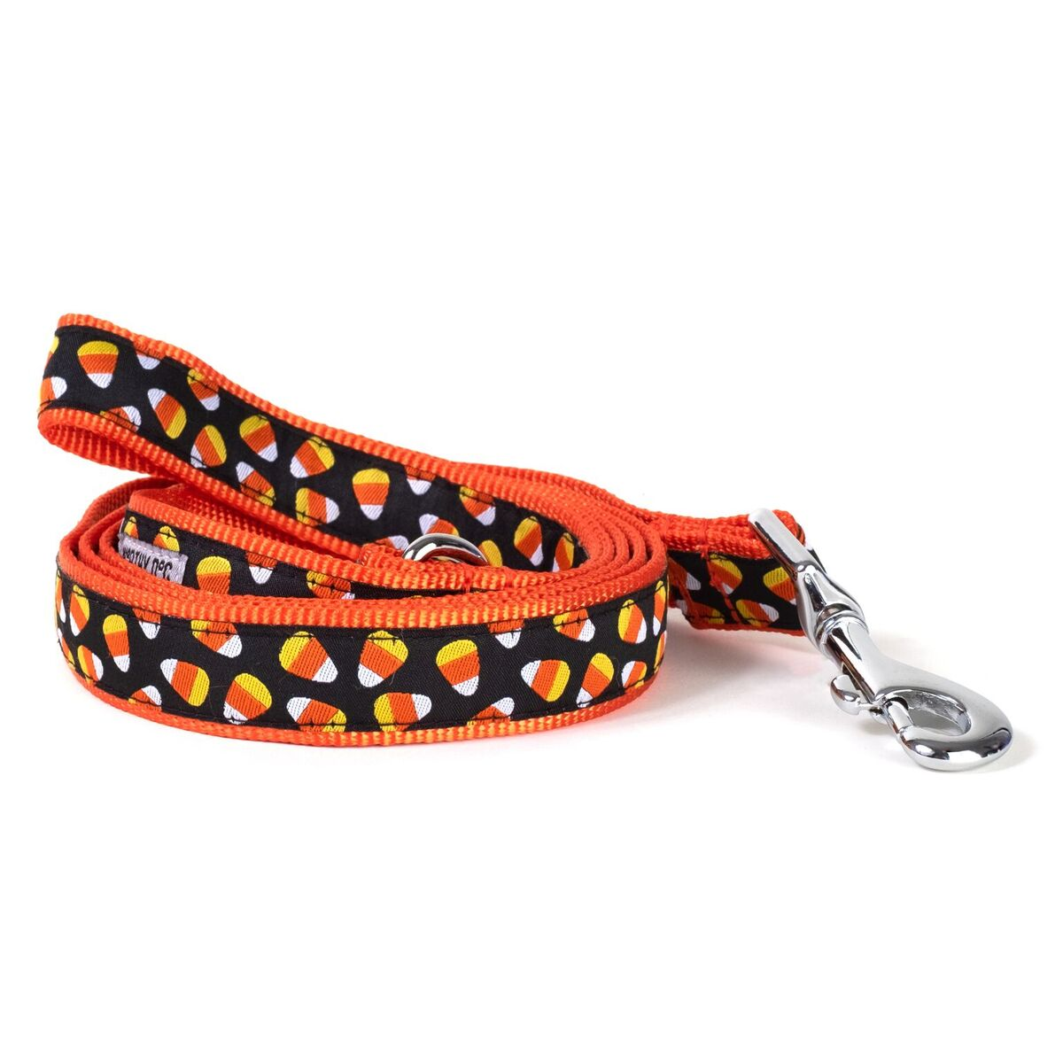 The Worthy Dog Leash, Candy Corn, Large (1-in)