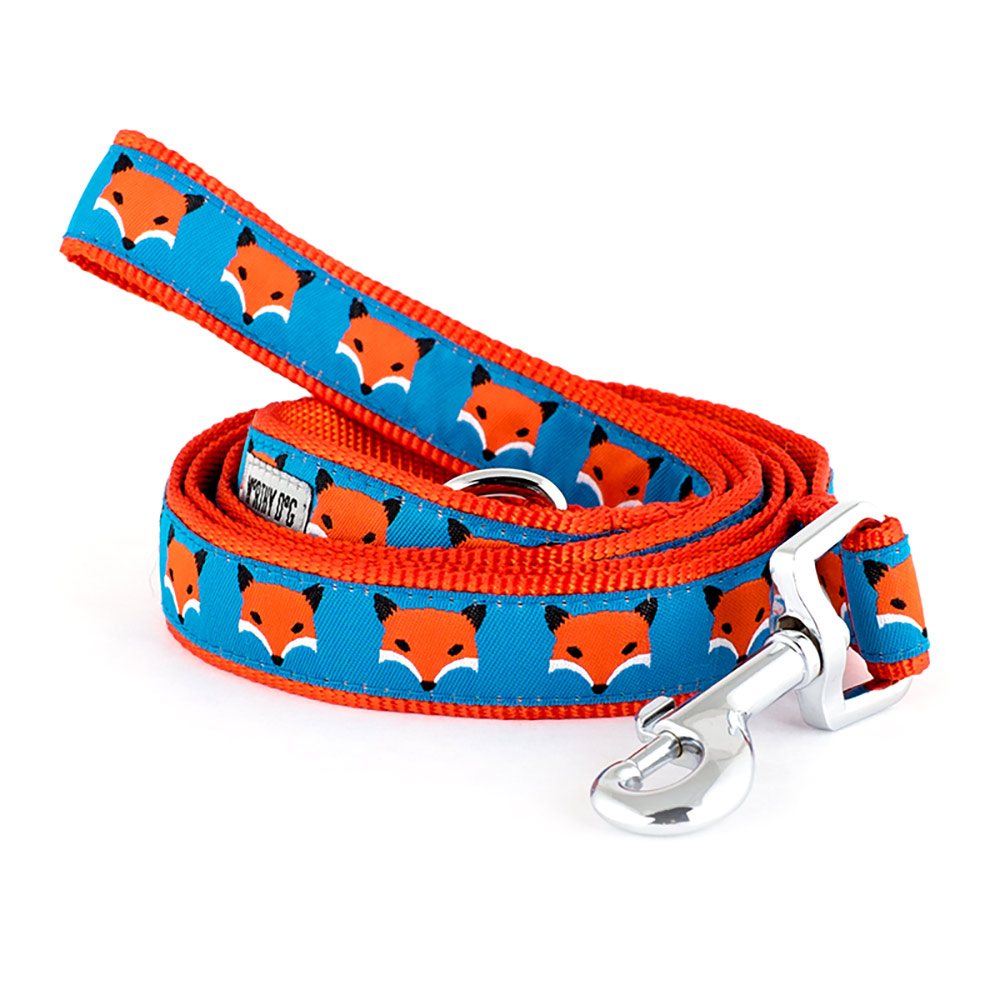 The Worthy Dog Leash, Foxy, Large (1-in)