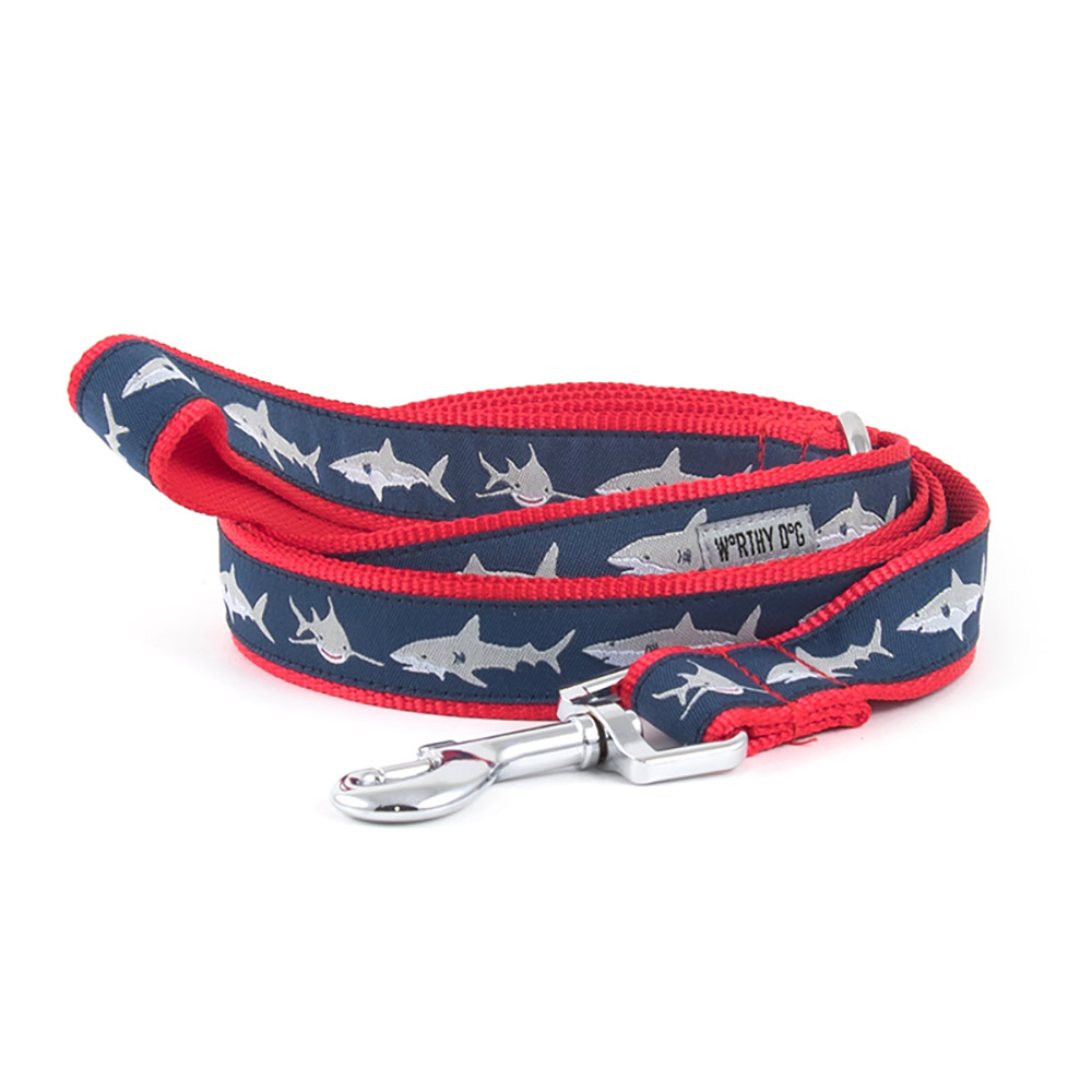 The Worthy Dog Leash, Jaws, Small (5/8-in)