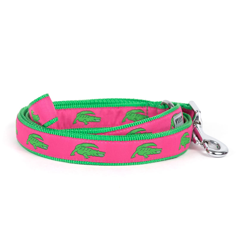 The Worthy Dog Leash, Alligators, Small (5/8-in)