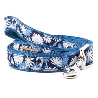 The Worthy Dog Leash, Flower Power, Large (1-in)